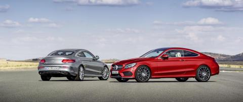 Nye sporty-Mercedes fra 419.000