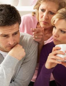 - Jeg takler ikke familien til mannen min. Hvordan kan jeg ta det opp?