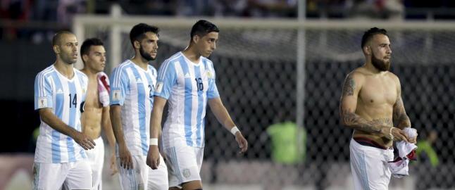 Argentina med bare ett poeng p� to kamper i VM-kvalifiseringen