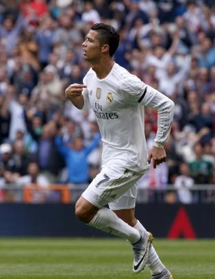 N� er Ronaldo Real Madrids mestscorende gjennom tidene