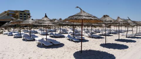70 hoteller stengt etter strandmassakeren i Tunisia