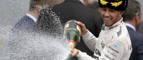 Hamilton verdensmester igjen etter h�ydramatisk l�p