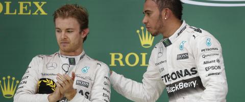 Rosberg raste mot lagkamerat Hamilton: - Han var ekstremt aggressiv