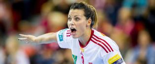 Nora M�rk skadd da Larvik vant - usikkert om VM er i fare