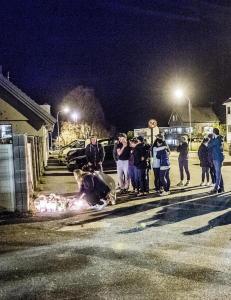 21-�ringen d�de rett utenfor familiens hus