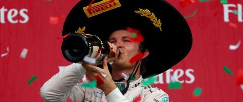 Rosberg gikk forbi Vettel i kampen om VM-sølvet