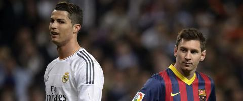 Den �umulige� rekorden Messi og Ronaldo skal slite med � sl�: 38 touch - 38 m�l