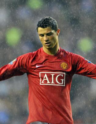 Ronaldo ble skjelt ut til han gr�t foran lagkameratene