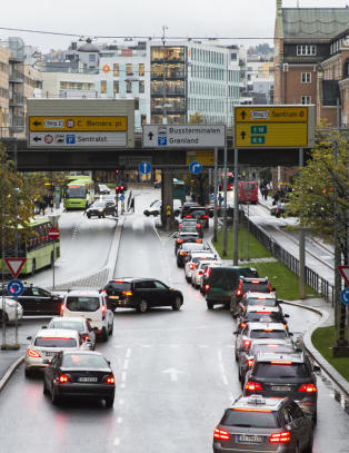 Foresl�r � tidoble bompengene for dieselbiler i Oslo