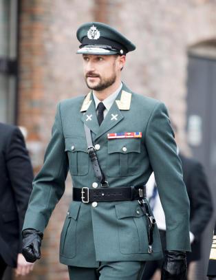 Kronprins Haakon overtar for Kong Harald