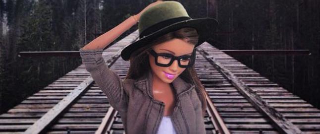 Hipsterdokka fikk 1,3 mill f�lgere, men n� er barbieeventyret over