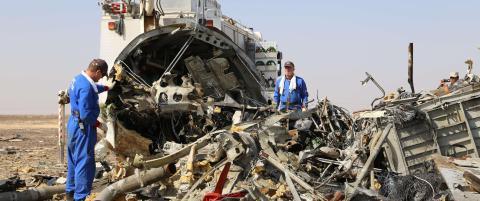 Egypt og Russland etterlyser bombe-bevis