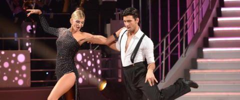 Kathrine Sørland røk ut rett før «Skal vi danse»-finalen: - Dritkjipt!