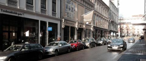 En gate i Oslo sentrum har blitt det nye kunststr�ket