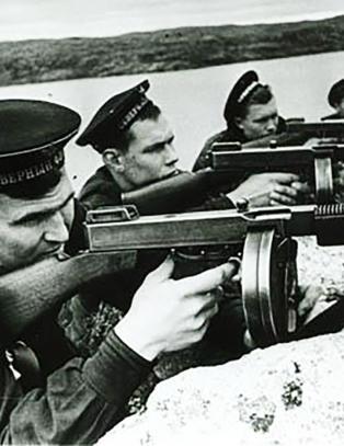 Da Stalins r�de arm� jagde Hitler ut av Finnmark