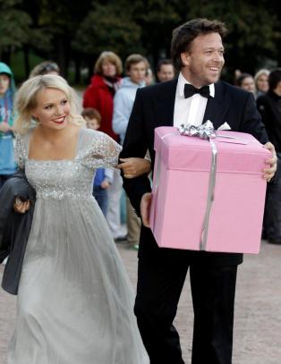 Lene Marlin og K�re Conradi har forel�pig ingen gifteplaner
