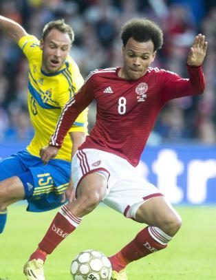 Denne detaljen gj�r at unormalt mange er opptatt av kampen mellom Sverige og Danmark