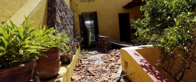 �Paradise Hotel� rammet av monsterorkan