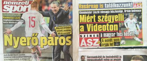 Ungarske aviser tar av: - Scorer vi et m�l, reiser vi til EM