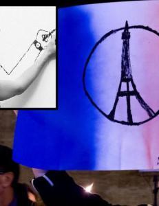 Han tegnet terrorsymbolet som samler en hel verden