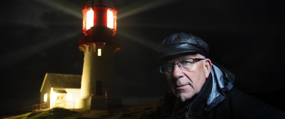 I 40 �r har Rolf (63) passet p� at det blinker fra Lindesnes