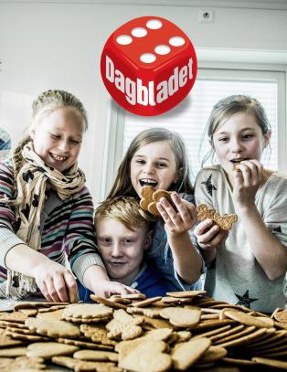 Vi har funnet barnas  favorittpepperkaker