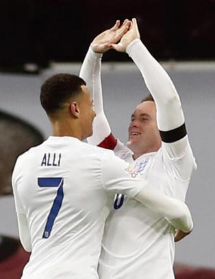 90 000 sang den franske nasjonalsangen p� Wembley. Men England ble for sterke