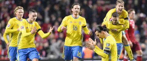 Ustoppelige Zlatan sendte Sverige til EM