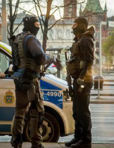 Sverige h�yner trusselniv�et