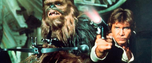 - Der og da ble Chewbacca min favoritt og jeg smugtrente p� strupelydene han lagde
