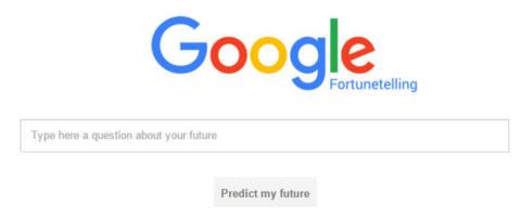 Denne nettsida hevder den kan sp� framtida di