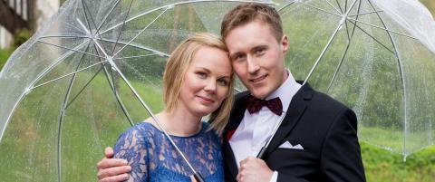 TV-paret skilte seg etter fem uker - n� er den ene nyforelska