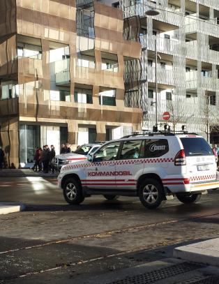 DNB-bygget i Oslo evakuert etter bombetrussel