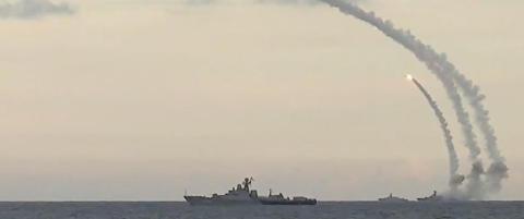 Her sender Russland �Det kaspiske sverd� mot Syria