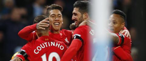 Liverpool lekte seg Manchester City