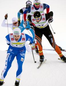 Sol�s Taugb�l fullf�rte den norske dominansen. Vant sprinten i Bruksvallarna
