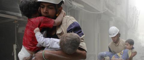 - Over 400 sivile syrere drept i russiske bombeangrep