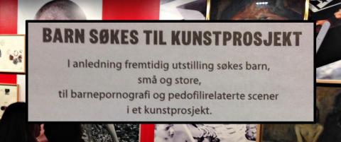 Publiserte �annonse�: �Barn s�kes til barnepornografi�