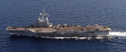 N� har �Frankrikes stolthet� begynt � bombe IS-m�l