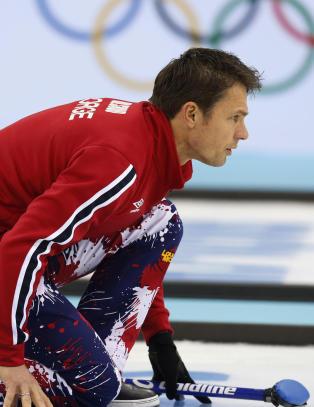 Norge ubeseiret i curling-EM