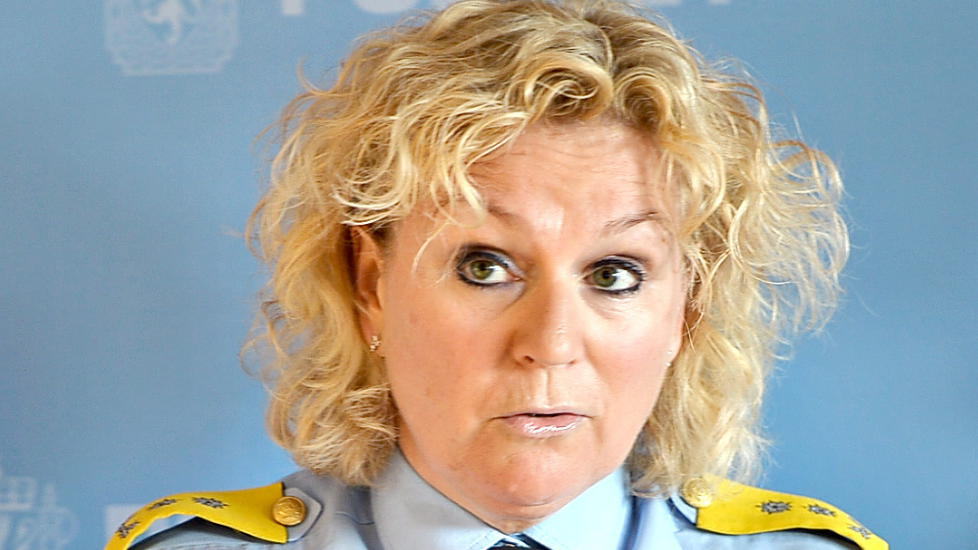 S�R-�ST :  Politimester Christine Fossen. Foto: Thomas Rasmus Skaug / Dagbladet.