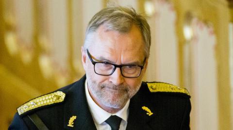 OSLO:  Politimester Hans Sverre Sj�vold.  Foto: Vegard Wivestad Gr�tt / NTB scanpix