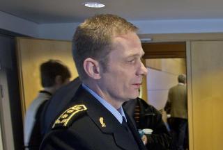 INNLANDET :  Politimester Johan Brekke. Foto: Stian Lysberg Solum / SCANPIX
