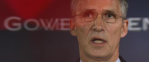 Jens Stoltenberg om krisem�tet i Nato: St�tter Tyrkias versjon av hva som skjedde