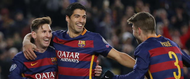Vant 6-1: Messi & Co holdt lekestue med Roma