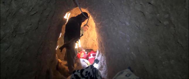 Hemmelige IS-tunneler funnet under irakisk by