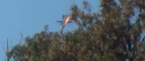 En av pilotene i live etter at Tyrkia skj�t ned russisk jagerfly