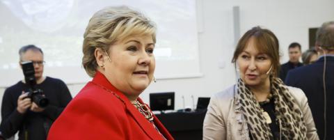 Erna om norske asylmottak: - Det er krise