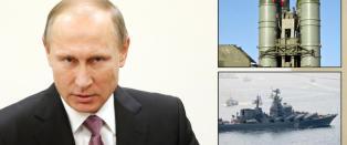 N� ruster Putin opp p� grensa til Tyrkia. Frykter Russland kan ta hevn