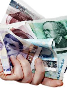 Bruk penga f�r de forsvinner
